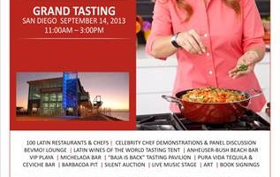 NEWS:  ¡LATIN FOOD FEST! Announces Its 2013 Grand Tasting Program