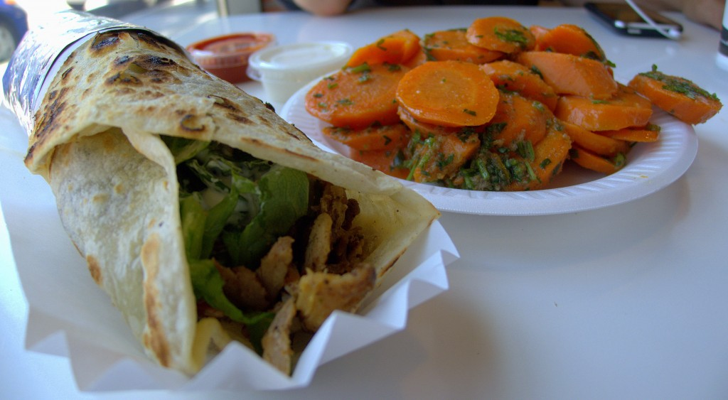 Chicken Döner with Andalucian Carrots 2