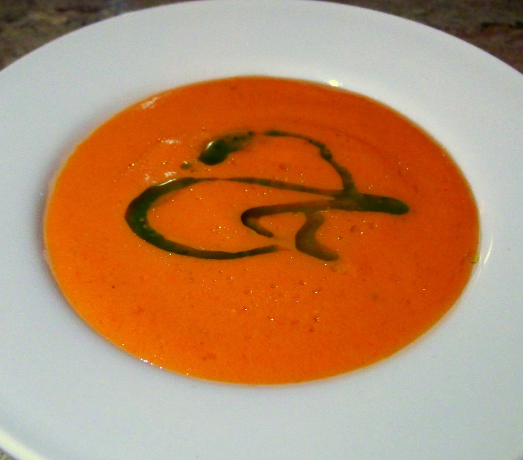 Spicy Gazpacho on the Cusp