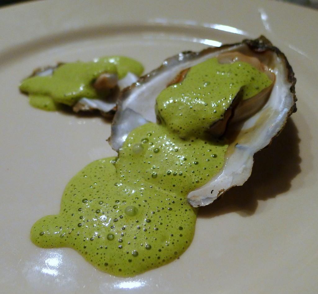 Grilled Oysters with Tarragon and Red Wine Vinegar Bearnaise 2