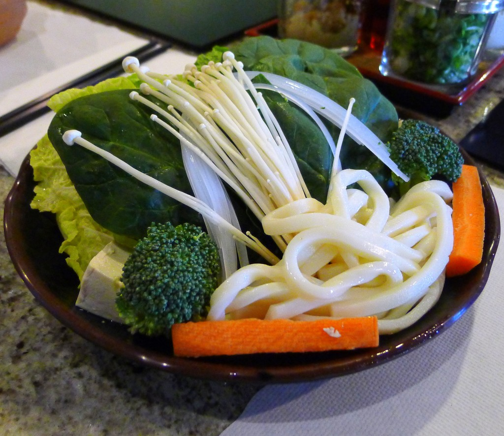 Veggies for Shabu Shabu