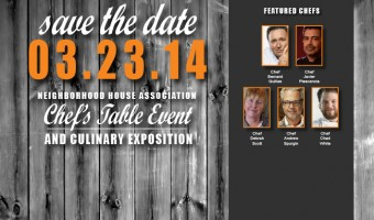 NEWS:  Celebrity Chefs Table and Culinary Expo Event March 23, 2014