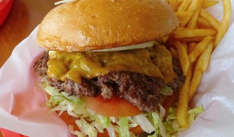 WORLD FARE:  Halphen Red Burgers shows why the hamburger is our national dish