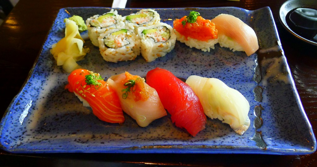 Sushi combo lunch special 2
