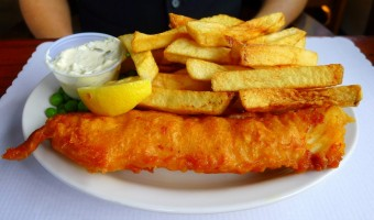 WORLD FARE:  Does Shakespeare's have the best fish 'n' chips anywhere?
