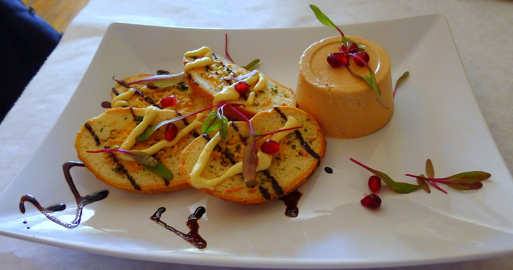 albacore mousse pate with chipotle