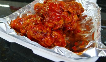 WORLD FARE:  Gala Chicken in Zion Market offers the real KFC