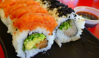 WORLD FARE:  Have rolls your way at Downtown's Sushi Freak