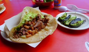 WORLD FARE:  Tacos El Yaqui does backyard barbecue Rosarito-style