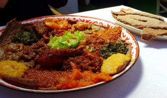 WORLD FARE:  No need for silverware at Harar Ethiopian