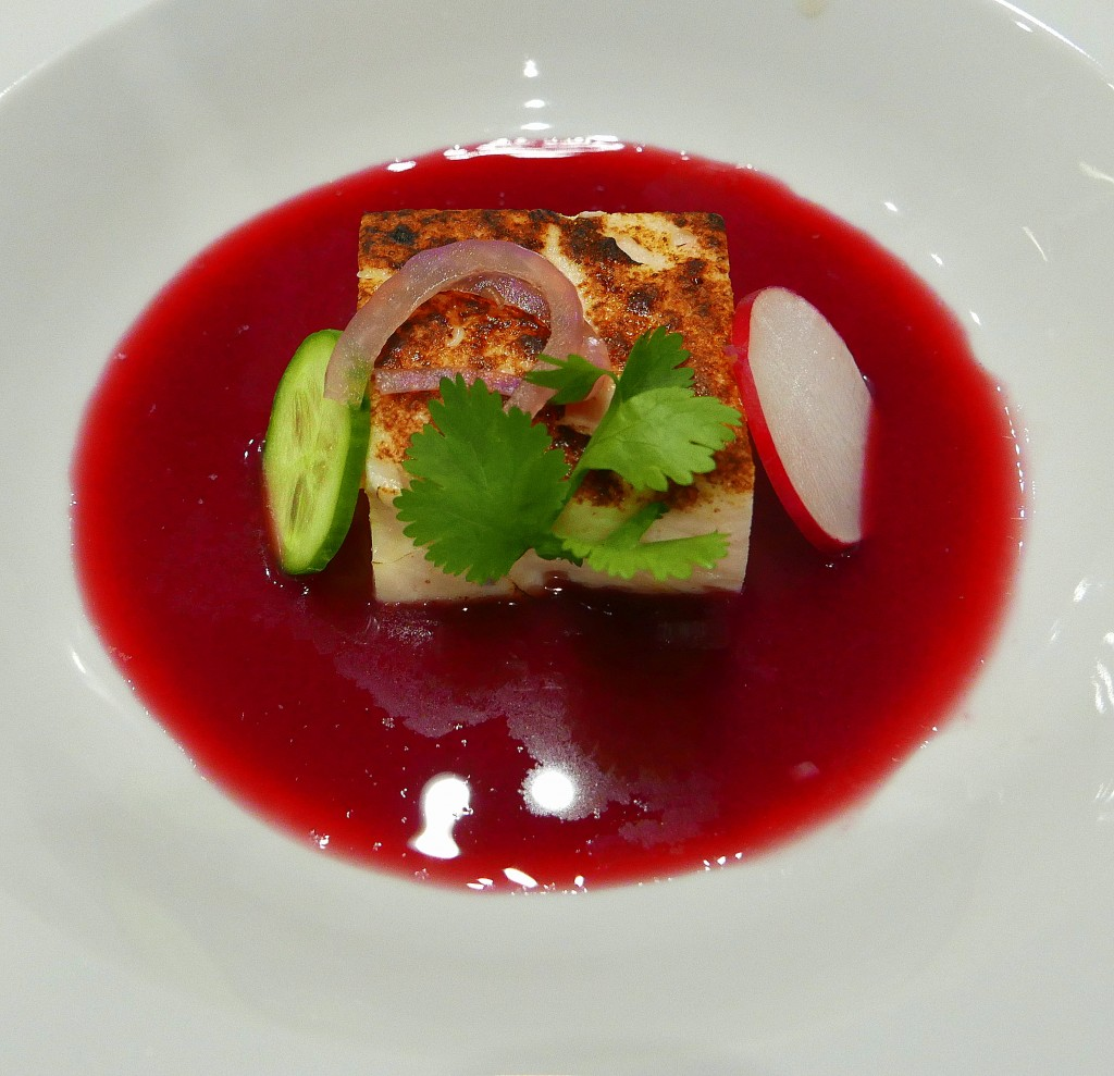 Blood Orange Aguachile | Scallop and Shrimp Terrine 4