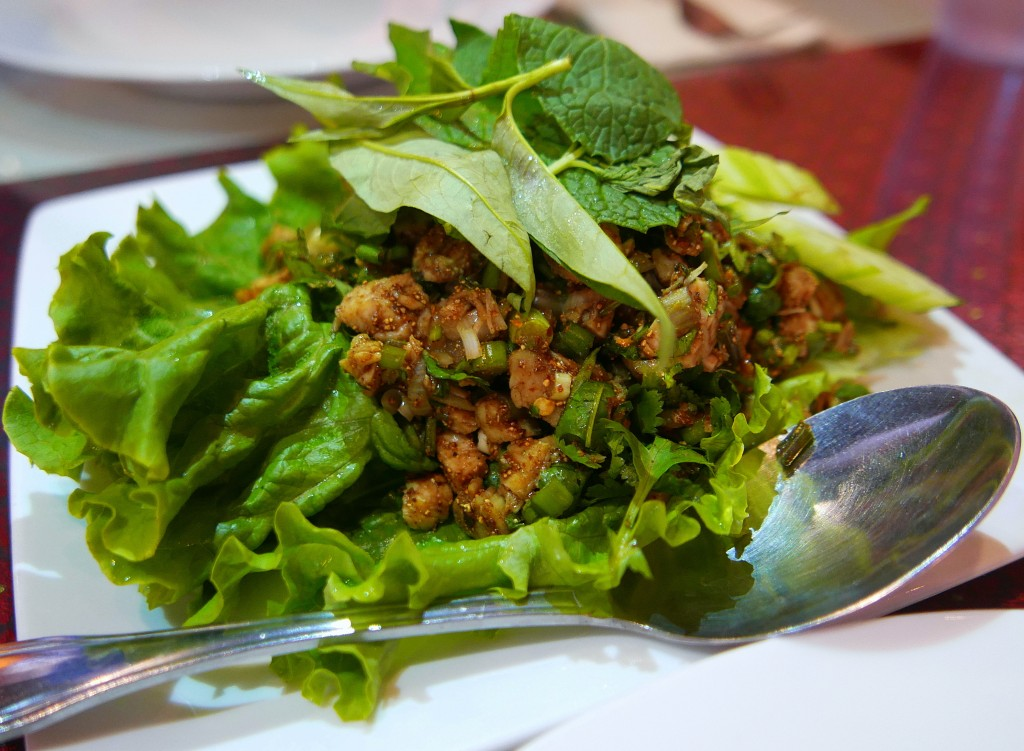 Chicken larb 2