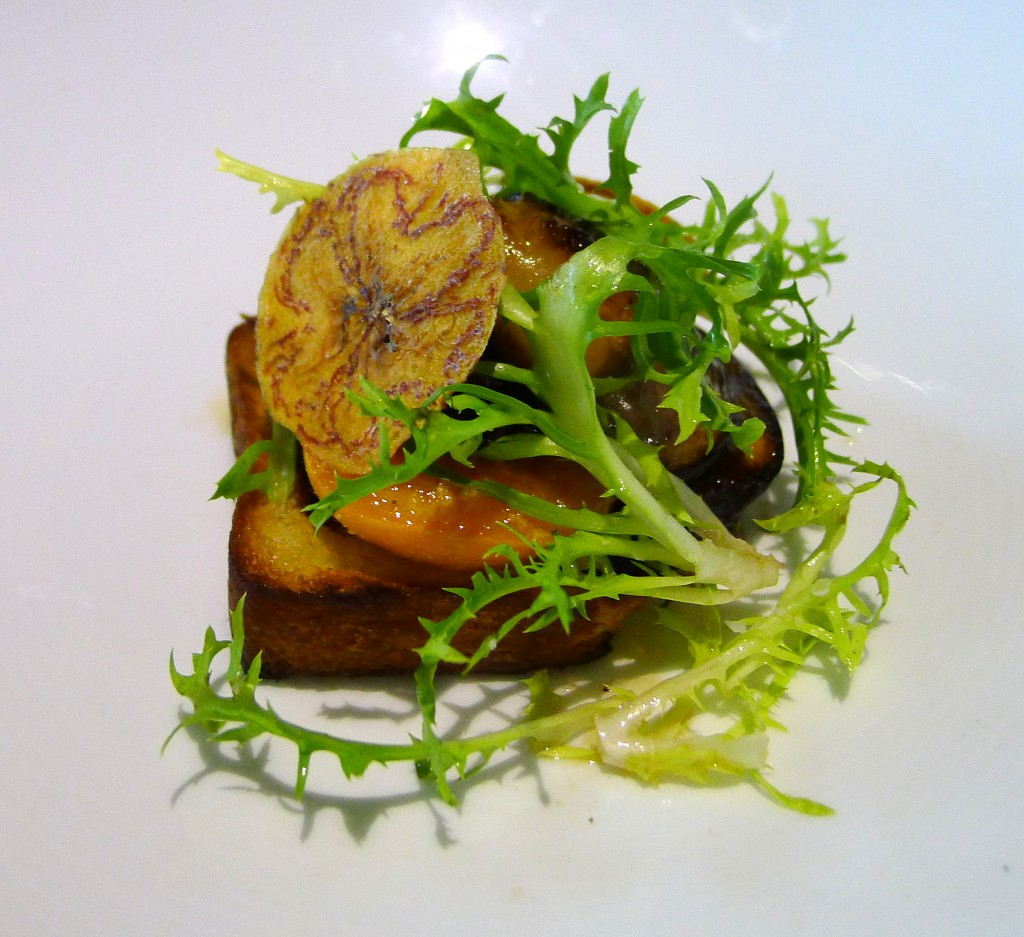 Foie Gras with Apricot 2