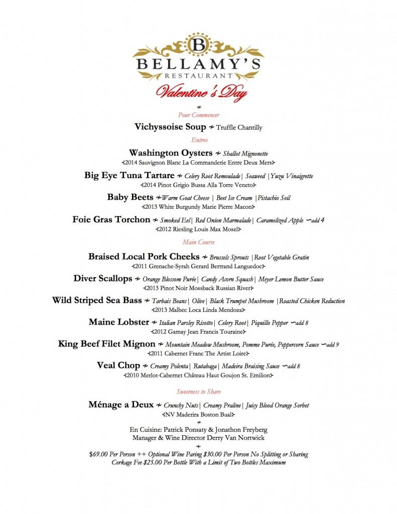 Bellamy's_Valentine's Day 2016 Menu copy