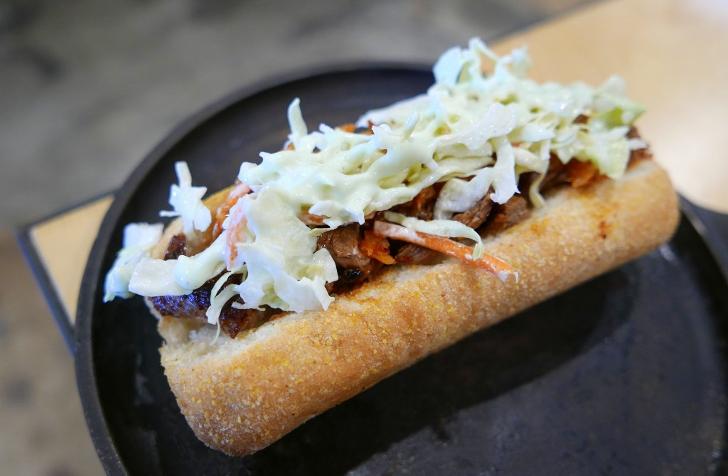 Korean steak sandwich