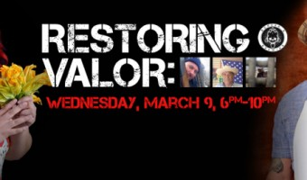 NEWS:  Restoring Valor (March 9) featuring MasterChef's Claudia Sandoval and Nick Nappi