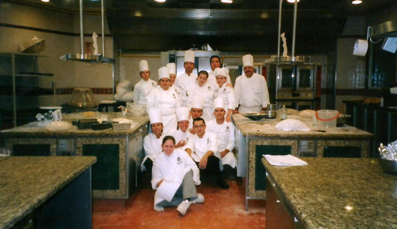 Miguel Angel Guerrero in Culinary School