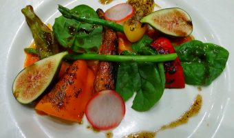 """RECIPE:""  A Guide to Malva Restaurant's Terrific Take on a ""Garden Salad"""
