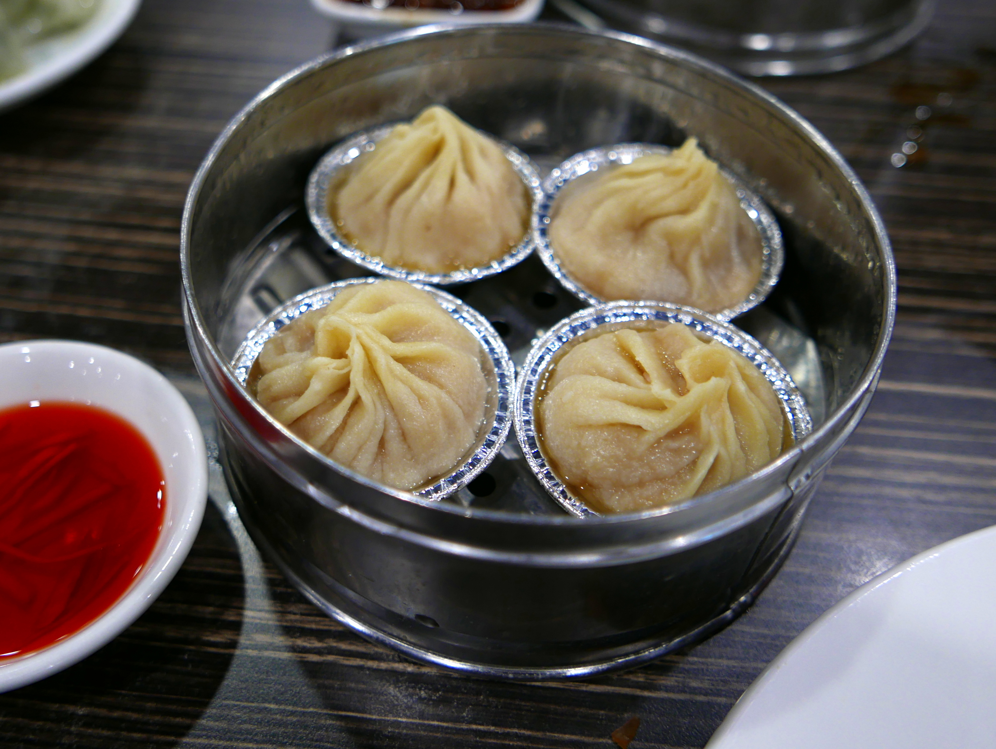 Fresh xiolongbao
