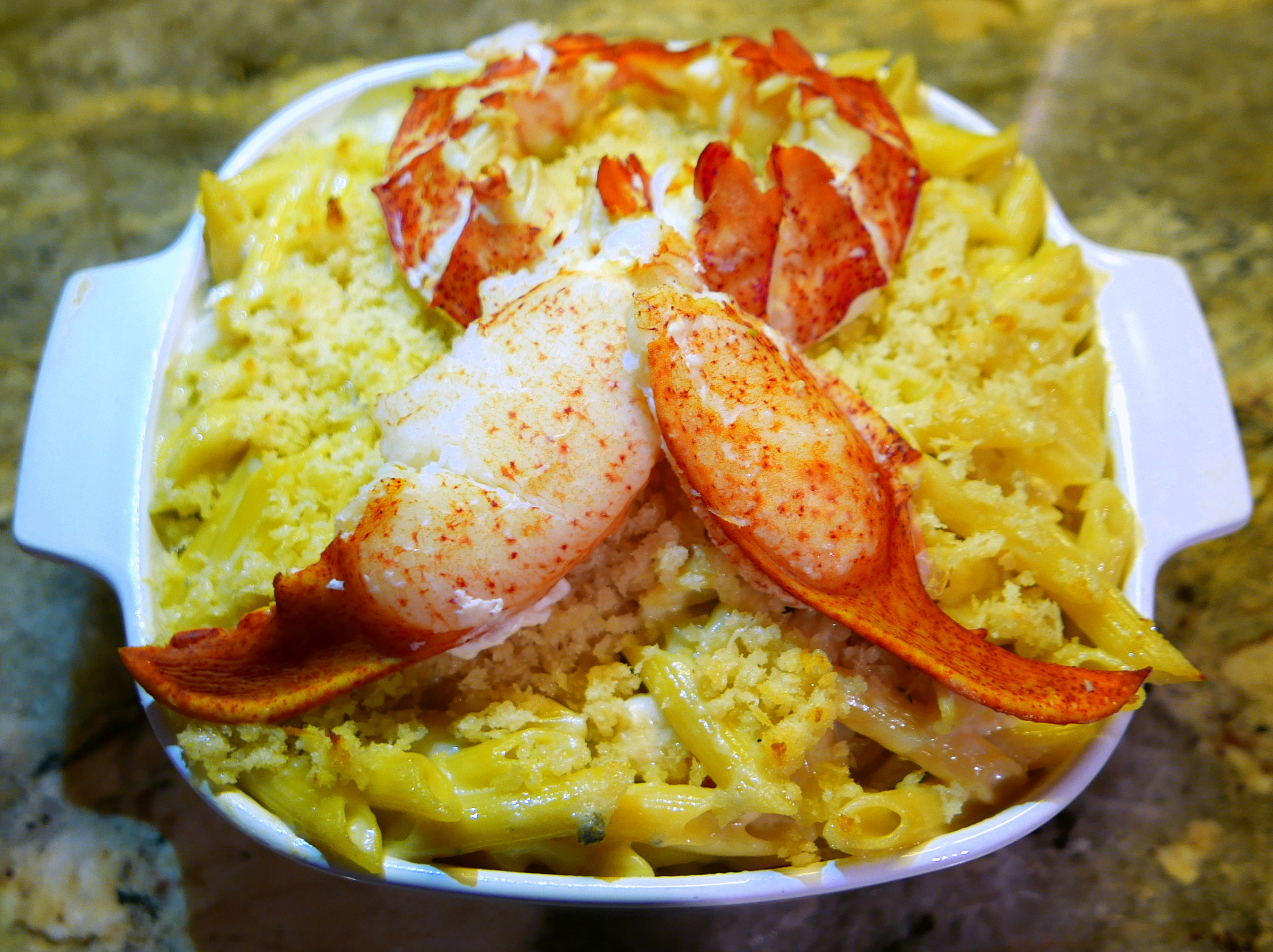 Blue Moon Lobster Mac 'n Cheese Recipe — Dishmaps