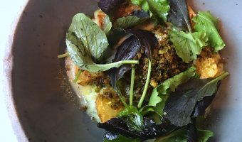 WORLD FARE: George's California Modern, a big fish, reminds us the size of our pond