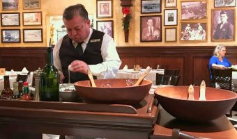 WORLD FARE: Time traveling on a boat of romaine at Caesar's Restaurante
