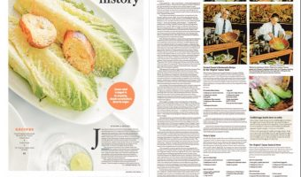 SAN DIEGO UNION-TRIBUNE: Caesar salad has mixed history, but got its start in Tijuana