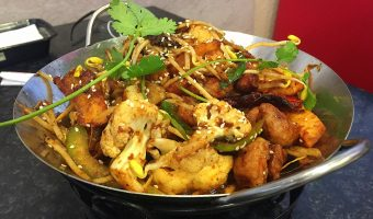 WORLD FARE: Hot pot's 'drier' cousin at Sizzling Pot King